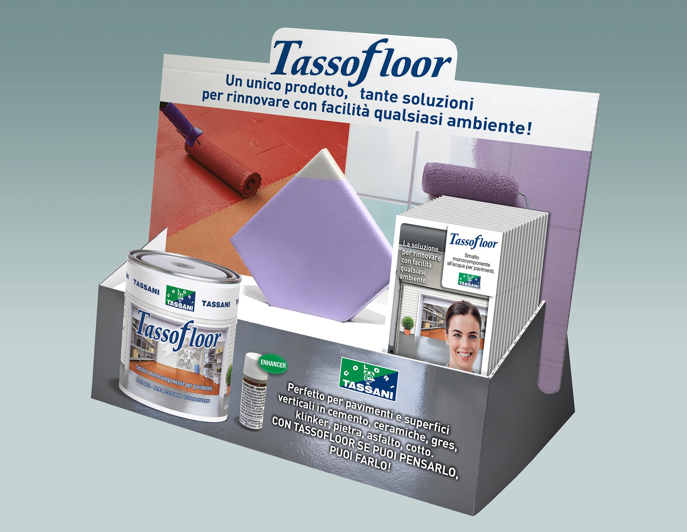 Tassofloor display