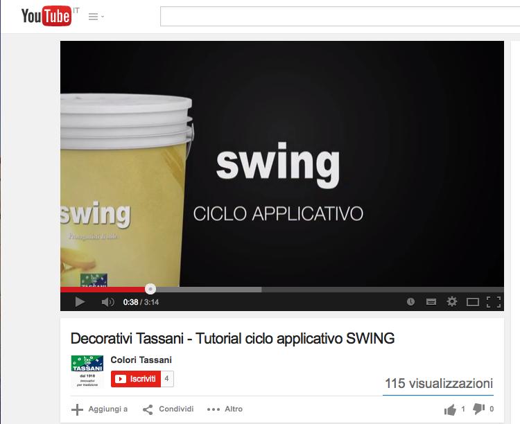 video Tassani Swing